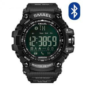 Pametna ura Smael S-shock GG1000-Bluetooth Black