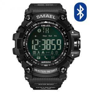 Pametna ura Smael S-shock GG1000-Bluetooth Black