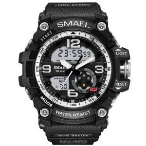Moška ročna ura Smael S-shock GG1000 Black