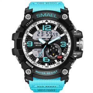 Moška ročna ura Smael S-shock GG1000 Light Blue