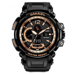 Moška ročna ura Smael S-shock GPW2000TFB Gold