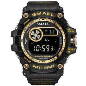 Moška ročna ura Smael S-shock GWFD1035B Gold