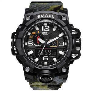 Moška ročna ura Smael S-shock Mudmaster Camuflage 1