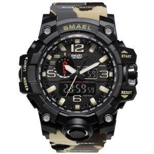 Moška ročna ura Smael S-shock Mudmaster Camuflage 2