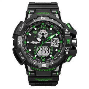 Moška ročna ura Smael S-shock GBT9000 Green