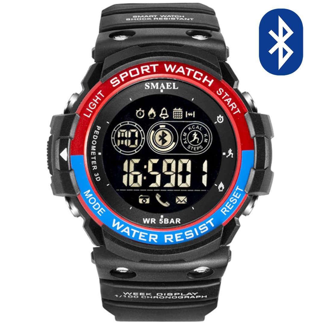 Pametna ura Smael S-shock BT3000-R Bluetooth