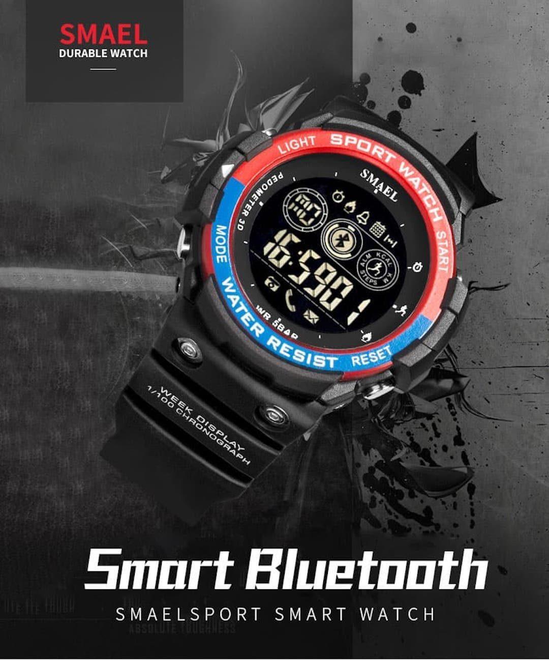 Pametna ročna ura Smael S-shock BT3000-R