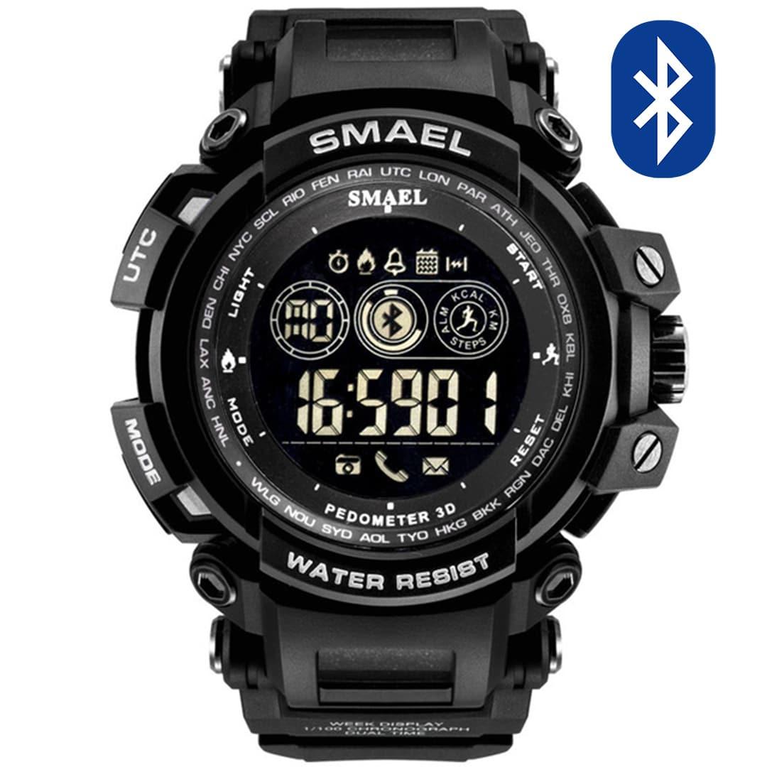 Pametna ura Smael S-shock MTGB2000B-B Bluetooth
