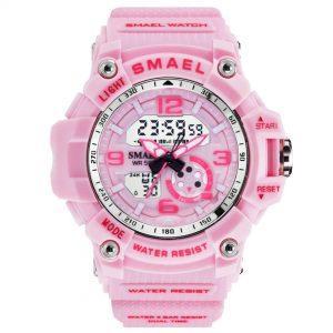 Ženska ročna ura Smael S-shock WGG1000 Pink