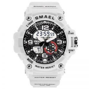 Ženska ročna ura Smael S-shock WGG1000 White