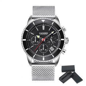 Moška ročna ura Cadisen Chronometre Black