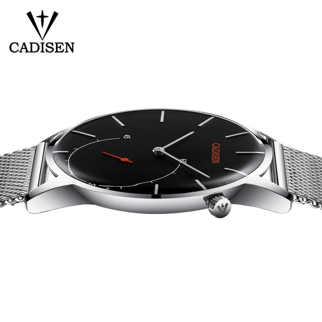 Moška ročna ura Cadisen Minimalistic Silver/Black