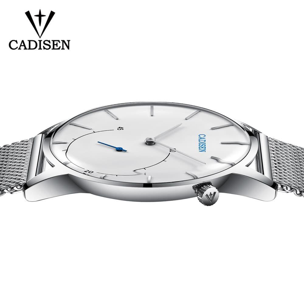 Moška ročna ura Cadisen Minimalistic Silver/White