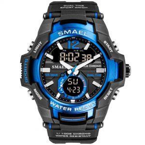 Moška ročna ura Smael S-shock Iron Blue