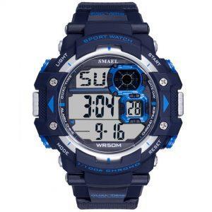 Moška ročna ura Smael S-shock Sprinter Blue