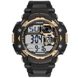 Moška ročna ura Smael S-shock Sprinter Gold