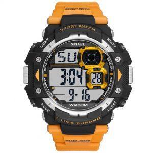 Moška ročna ura Smael S-shock Sprinter Orange