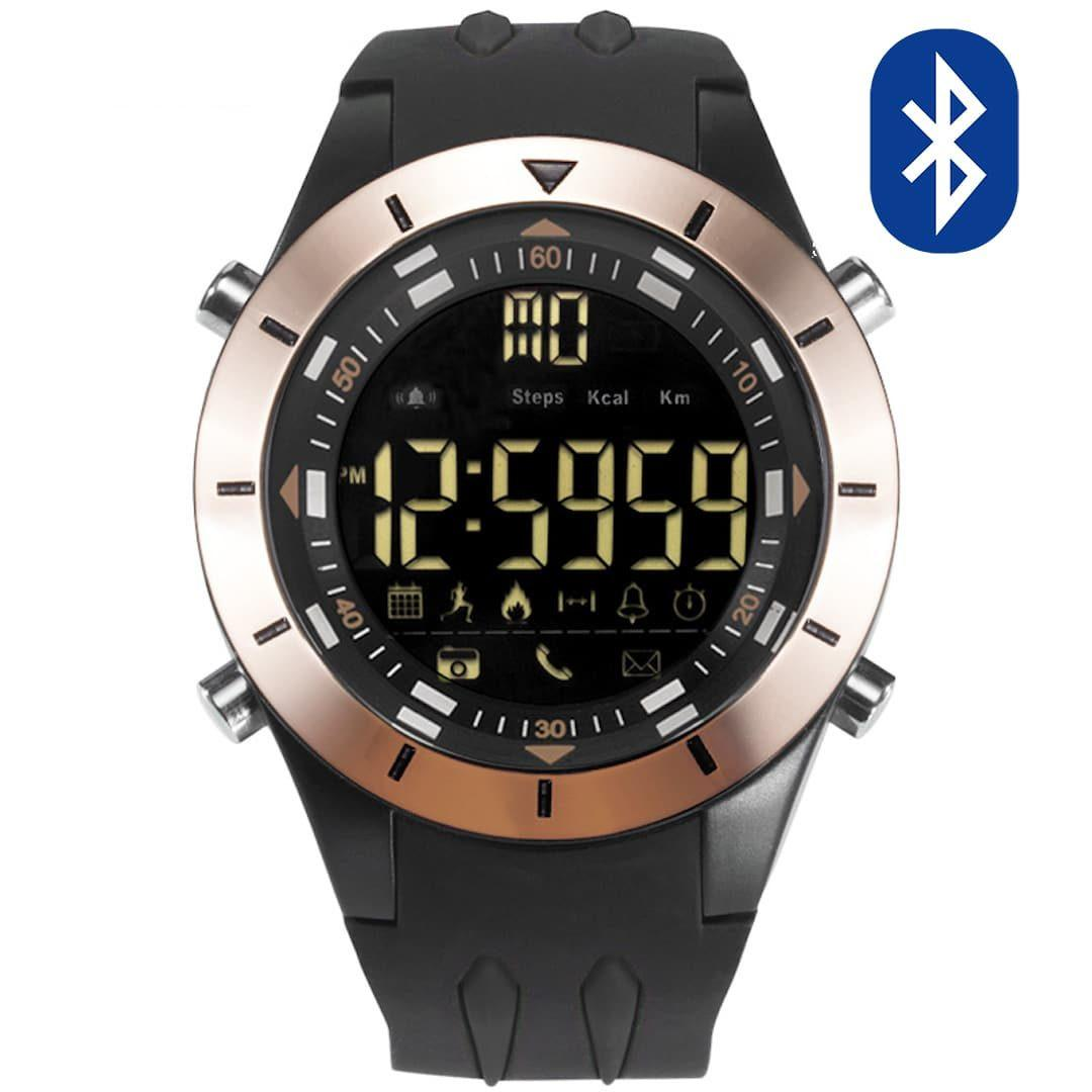 Pametna ročna ura Smael G-shock SS2020B Bluetooth Black