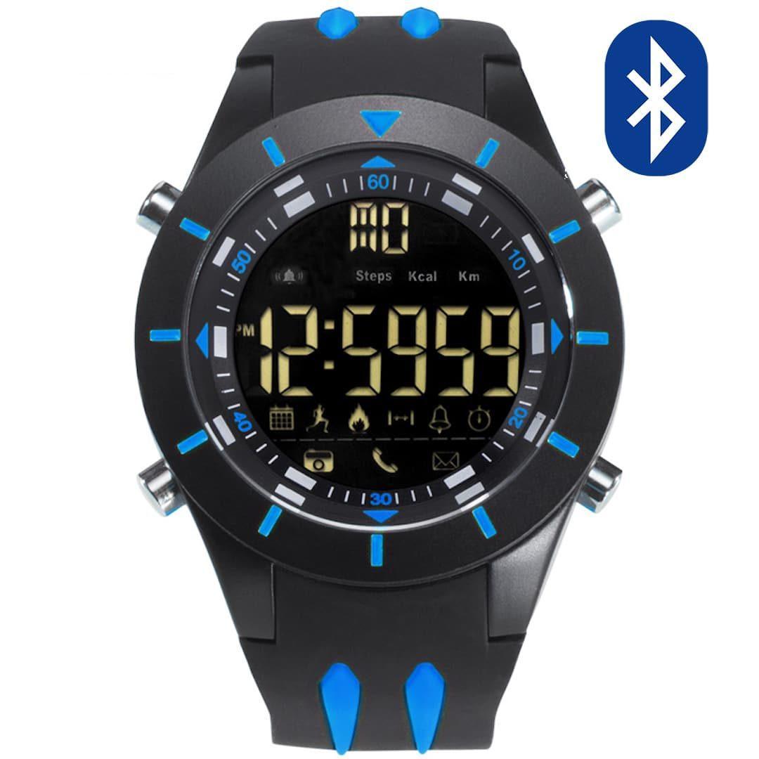 Pametna ročna ura Smael G-shock SS2020B Bluetooth Blue