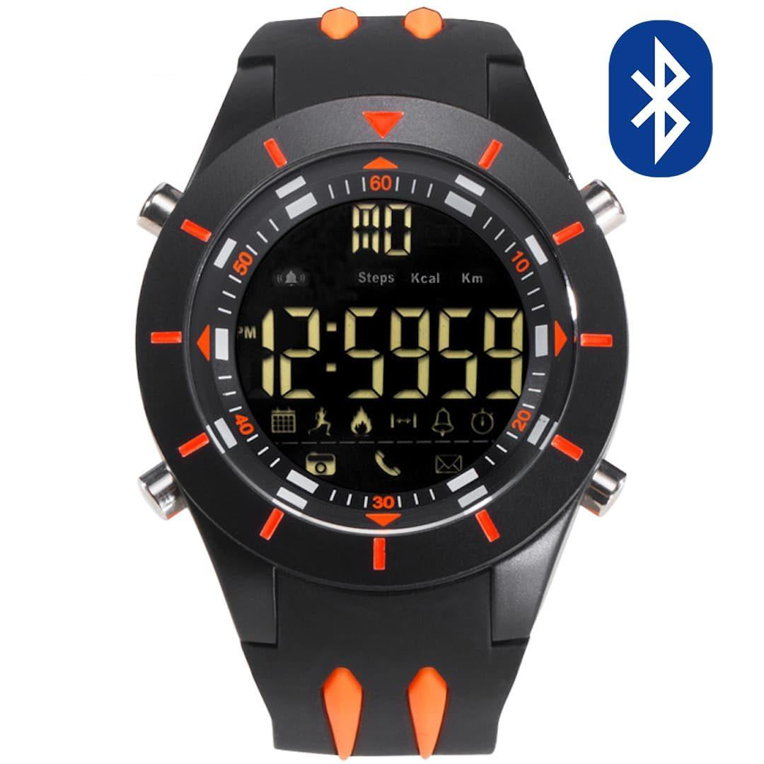 Pametna ročna ura Smael G-shock SS2020B Bluetooth Orange