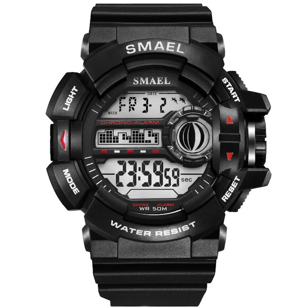 Moška ročna ura smael g-shock WR Black