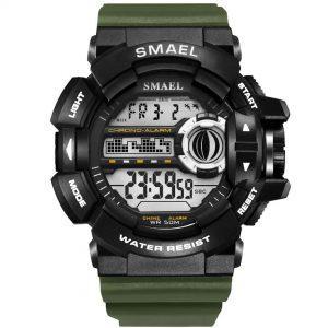 Moška ročna ura smael g-shock WR Green