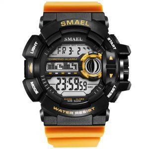 Moška ročna ura smael g-shock WR Orange