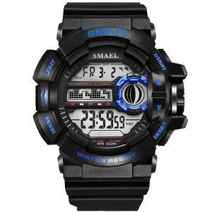 Moška ročna ura smael s-shock WR Blue