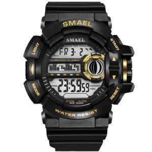 Moška ročna ura smael s-shock WR Gold
