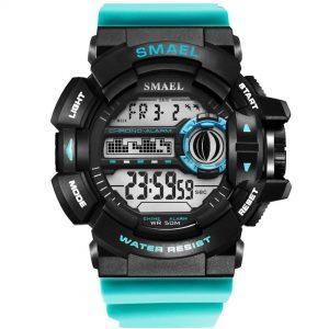 Moška ročna ura smael s-shock WR Light Blue