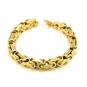 Zapestnica Metal Intertwined Gold