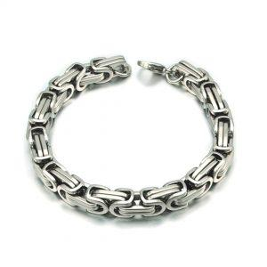 Zapestnica Metal Intertwined Silver