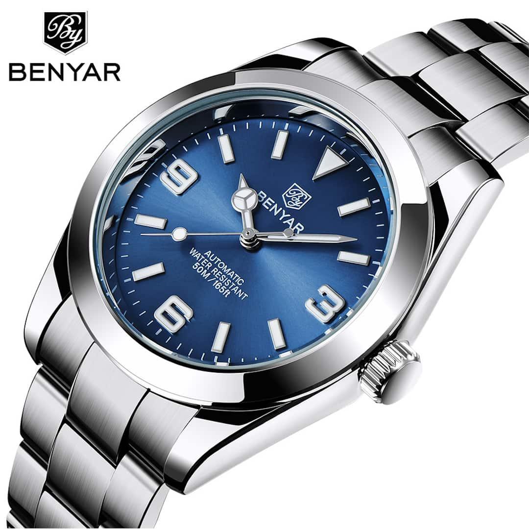 Moška ročna ura Benyar Automatic Blue